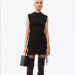 Alexander Wang Black String Dress